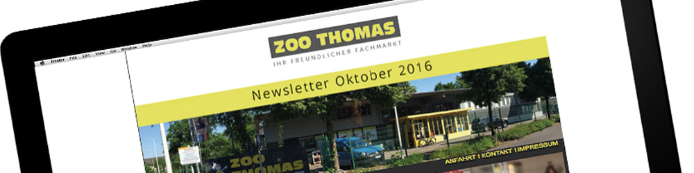 Service bei ZOO THOMAS